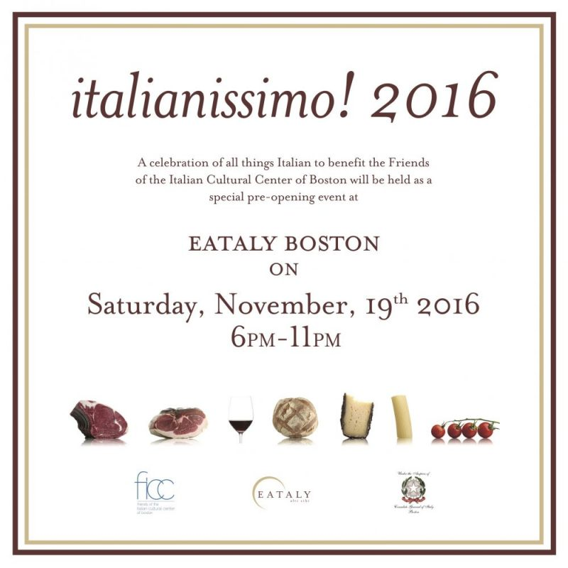Invitation to italianissimo! 2016