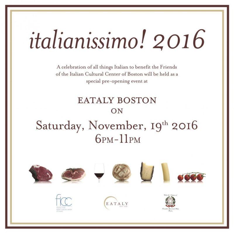 Invitation to italianissimo! 2016
